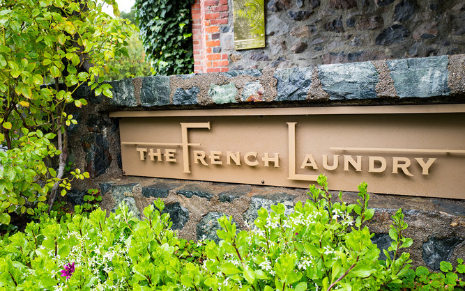 The French Laundry Restaurant in Napa