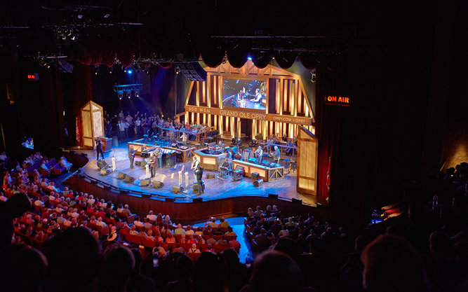 Grand Ole Opry Auditorium in Nashville