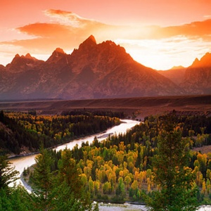 Top sunset views in jackson hole travel leisure for Best places to eat in jackson wy