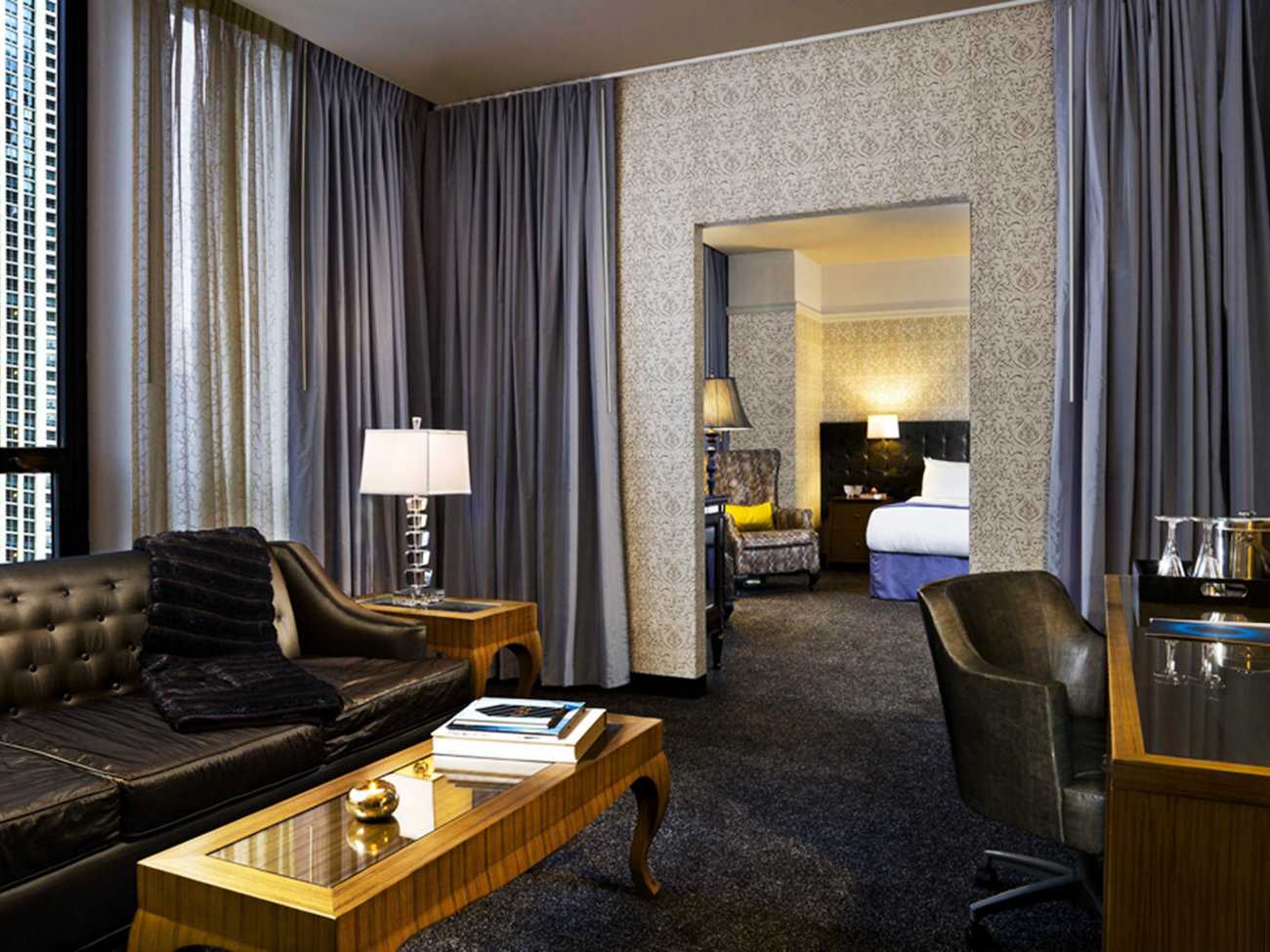 Gather home lifestyle travel leisure for Chicago hotels close to downtown
