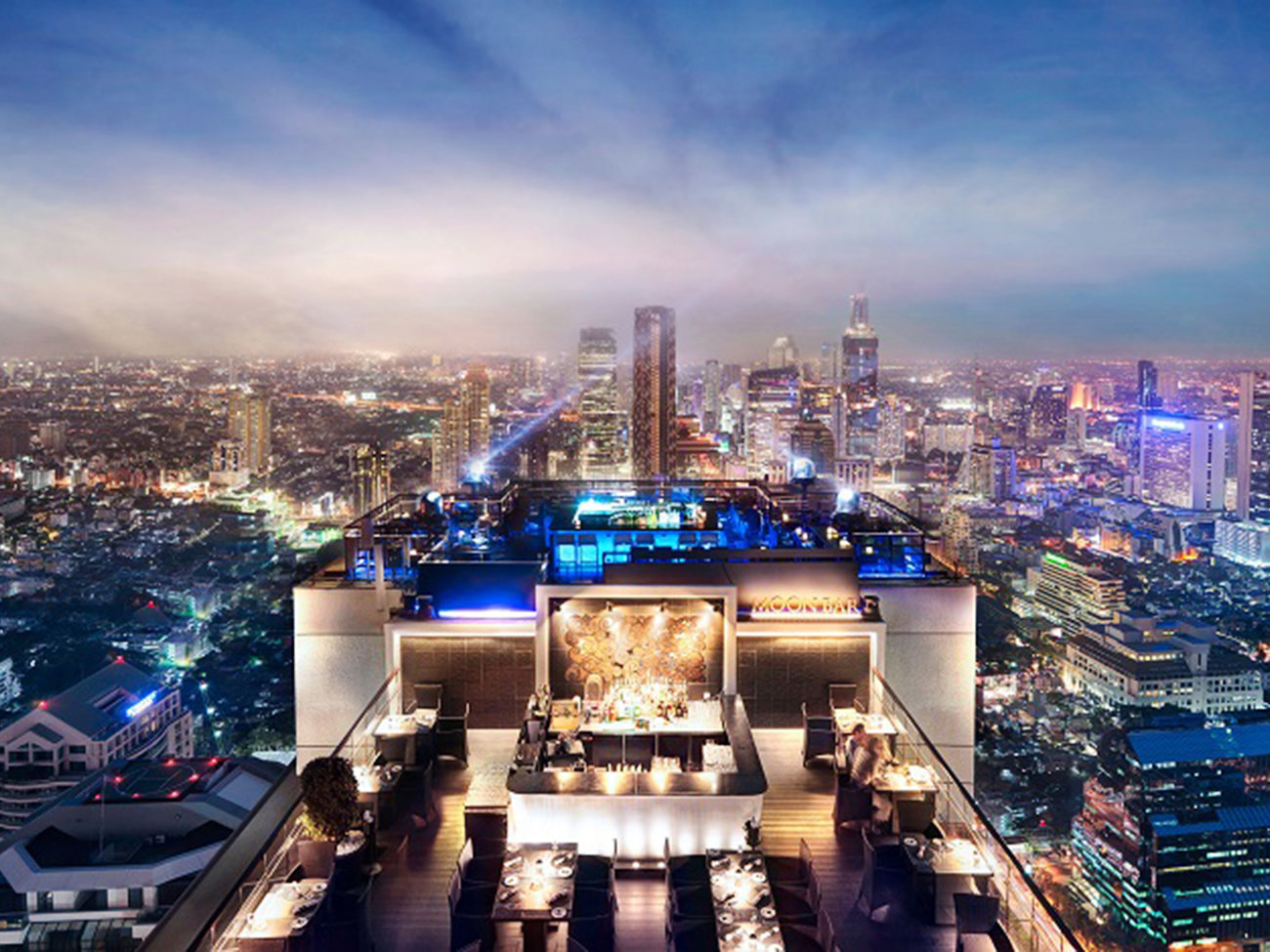 Vertigo Grill & Moon Bar in Bangkok