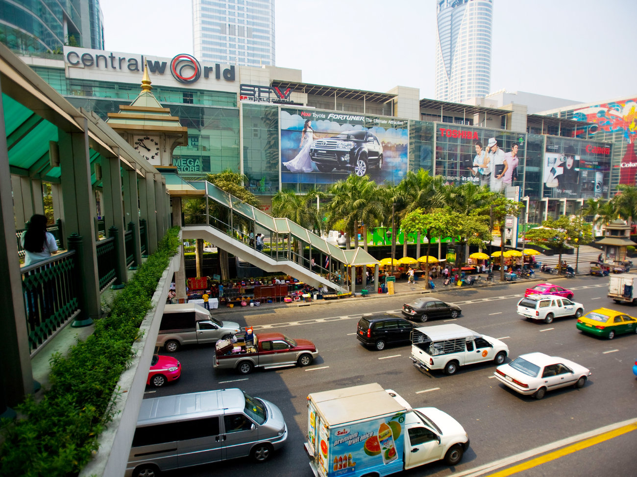 Central World Mall in Bangkok