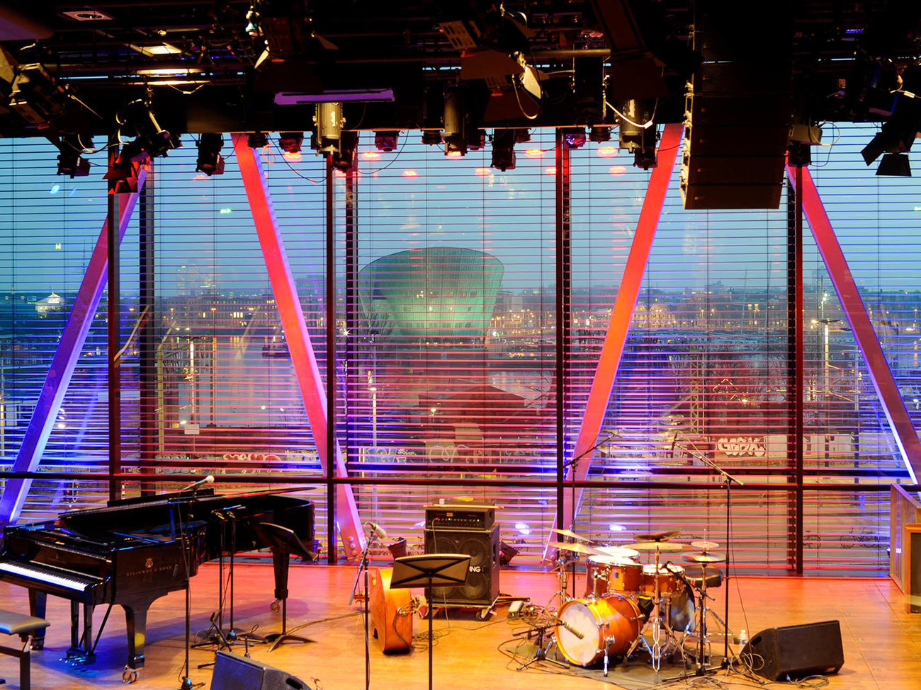 Bimhuis Jazz Venue in Amserdam
