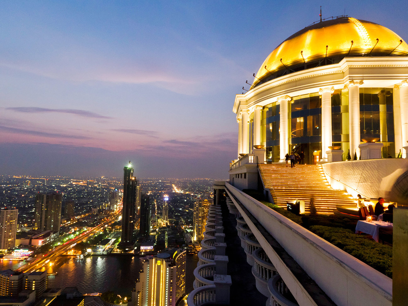 Lebua State Tower Hotel in Bangkok