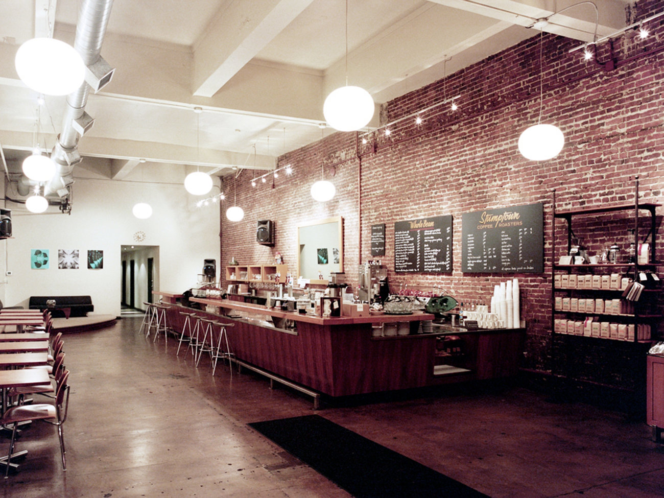 Stumptown Coffee Roasters Shop in Portland
