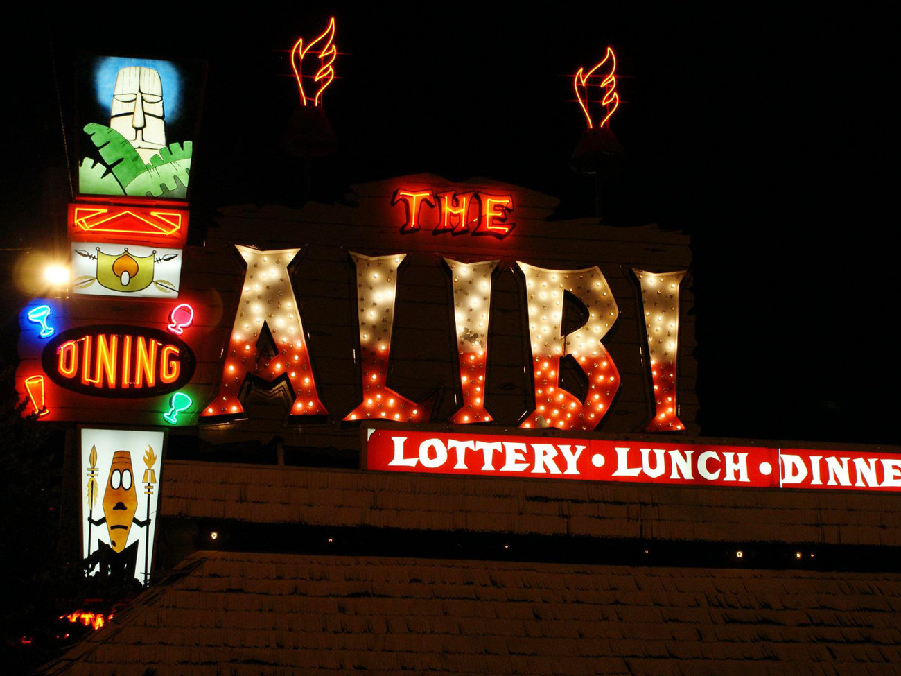 Alibi Bar in Portland