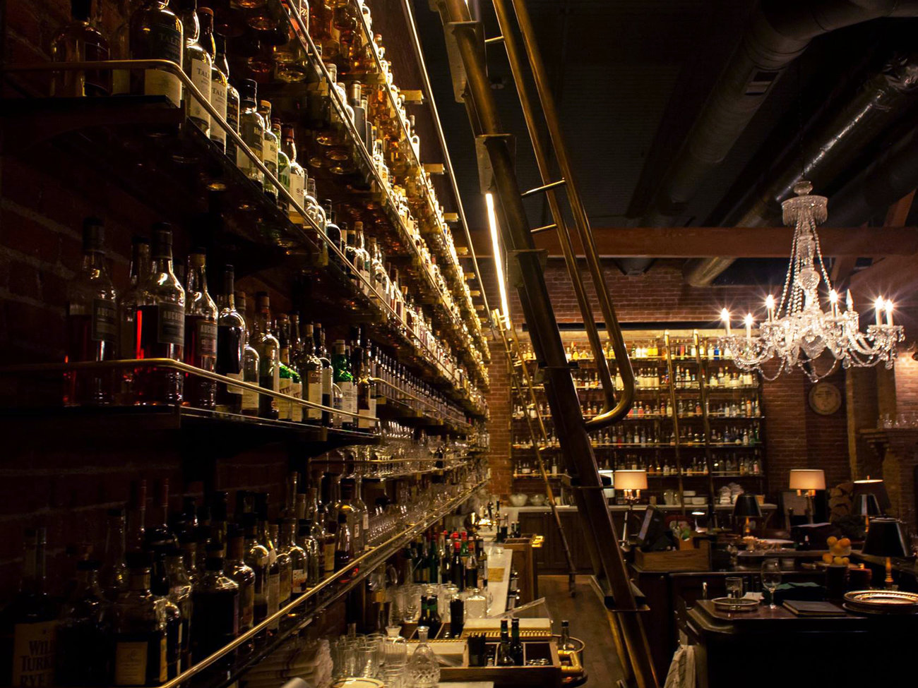 Multnomah Whiskey Library Bar in Portland