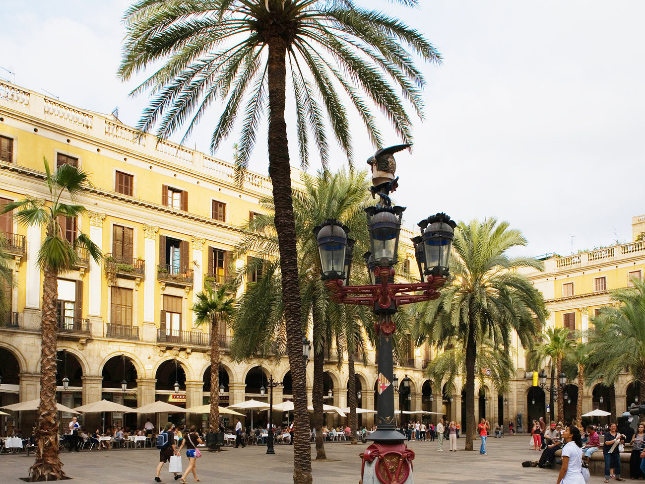 Barri Gòtic Neighborhood in Barcelona