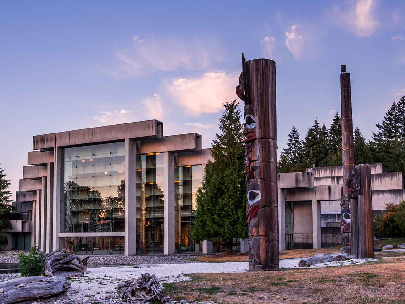 Museum of Anthropology at UBC in Vancouver