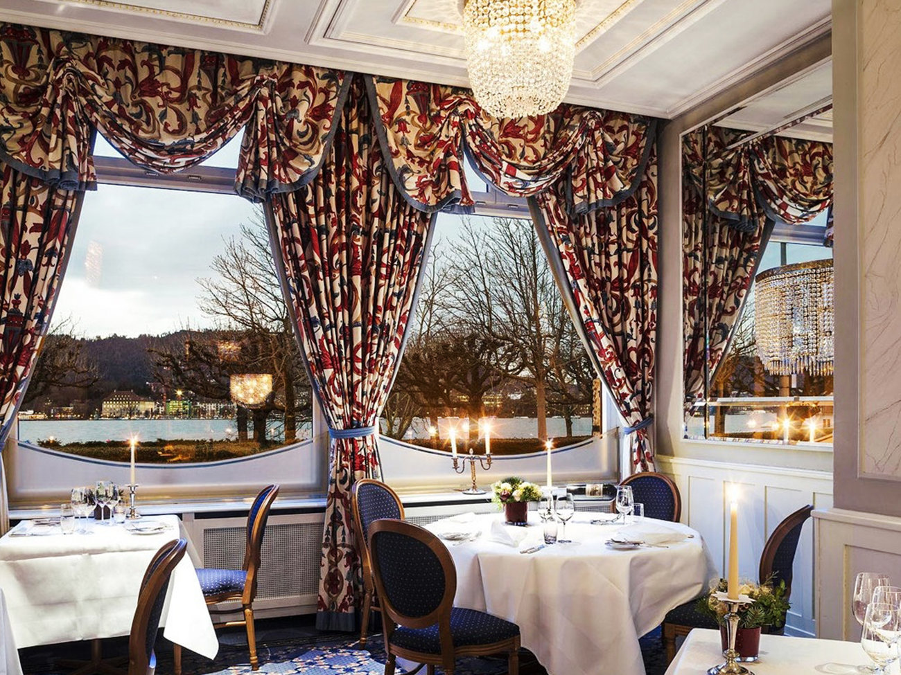 Eden au lac Restaurant in Zurich