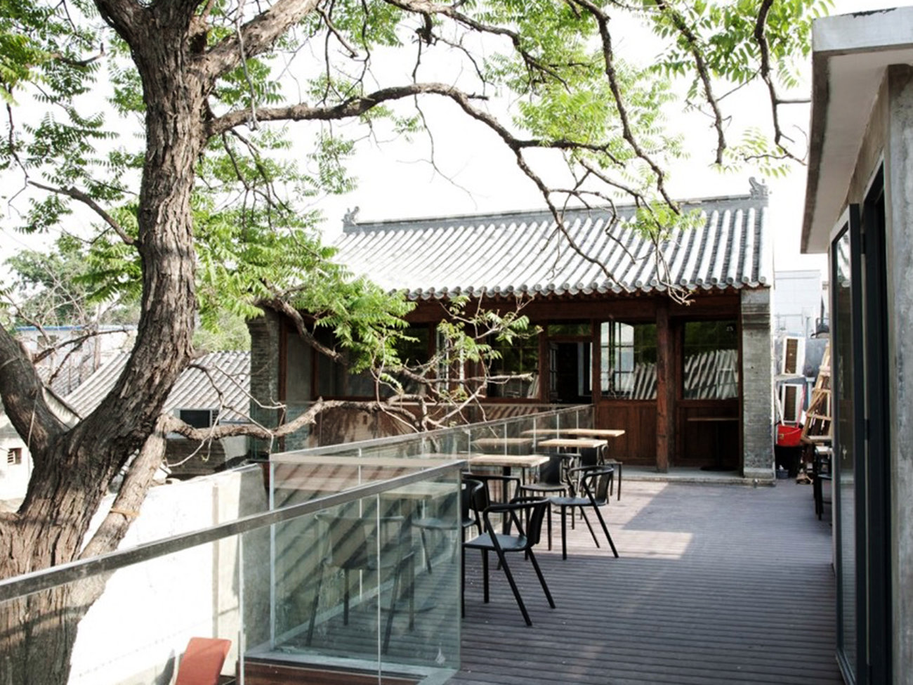 Cafe Zarah Restaurant in Beijing