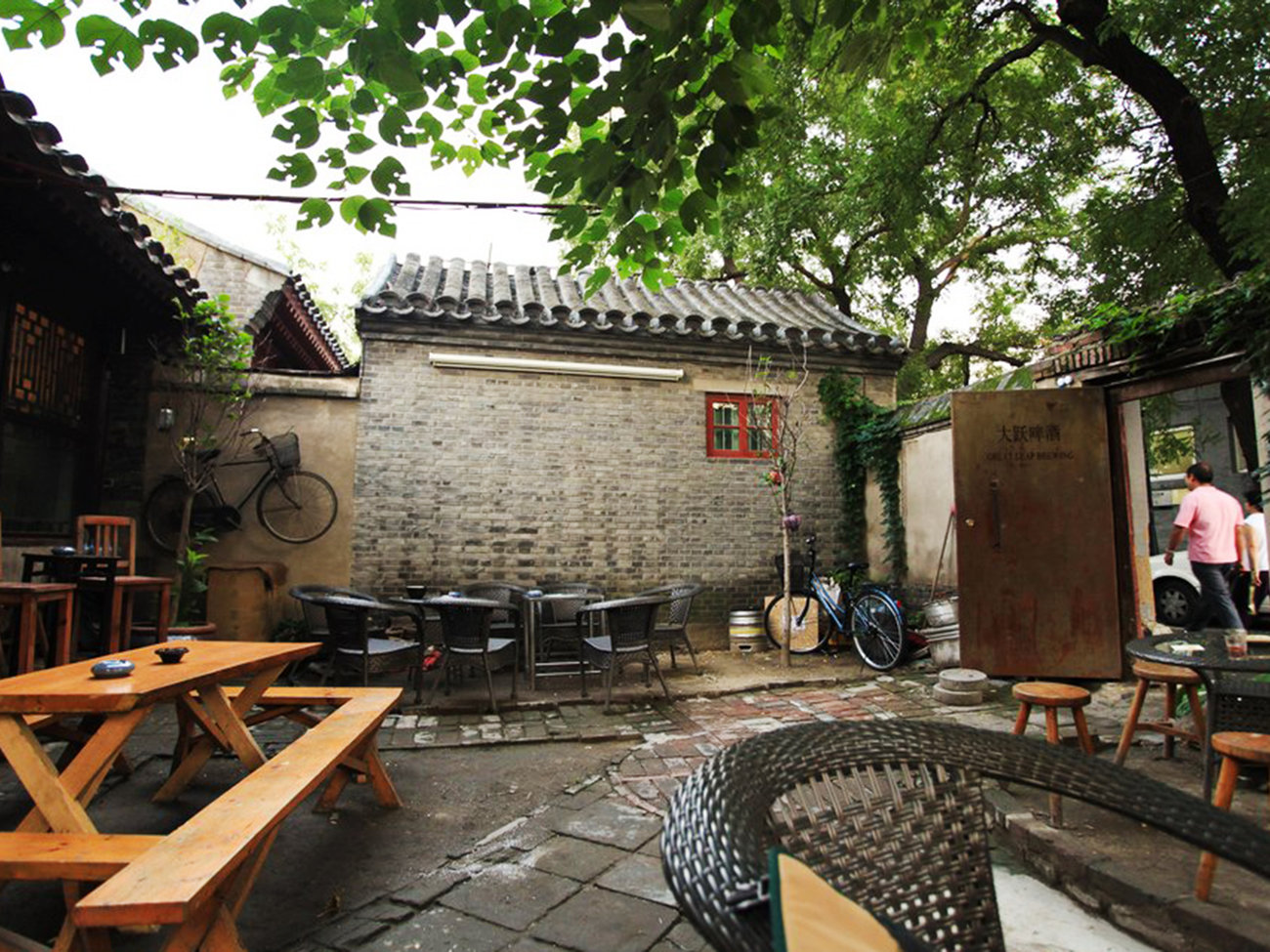 Great Leap Brewing Bar in Beijing