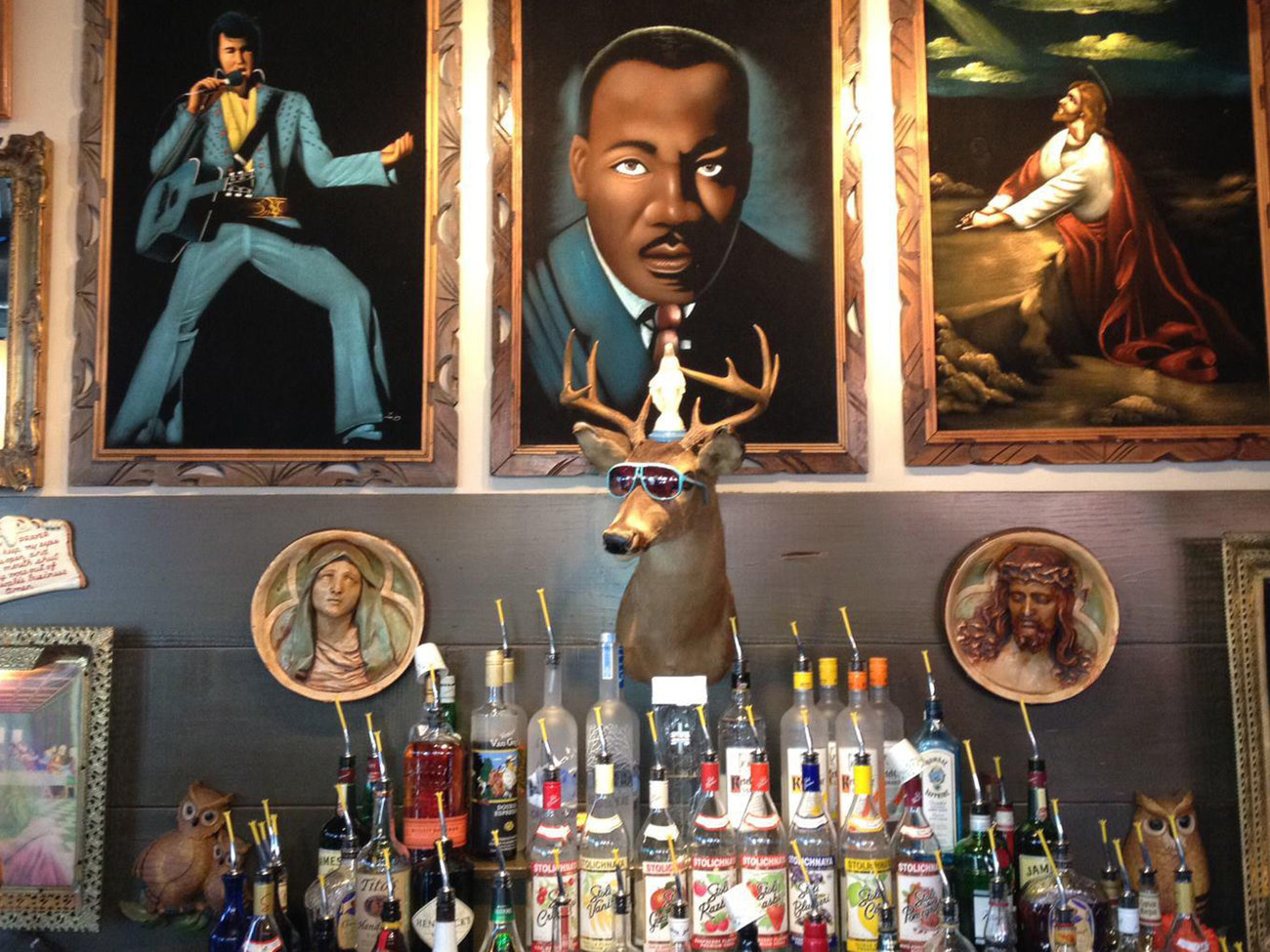 Sister Louisa's Church of the Living Room & Ping Pong Emporium Bar in Atlanta