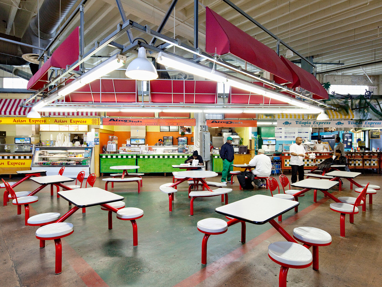 Sweet Auburn Curb Market in Atlanta