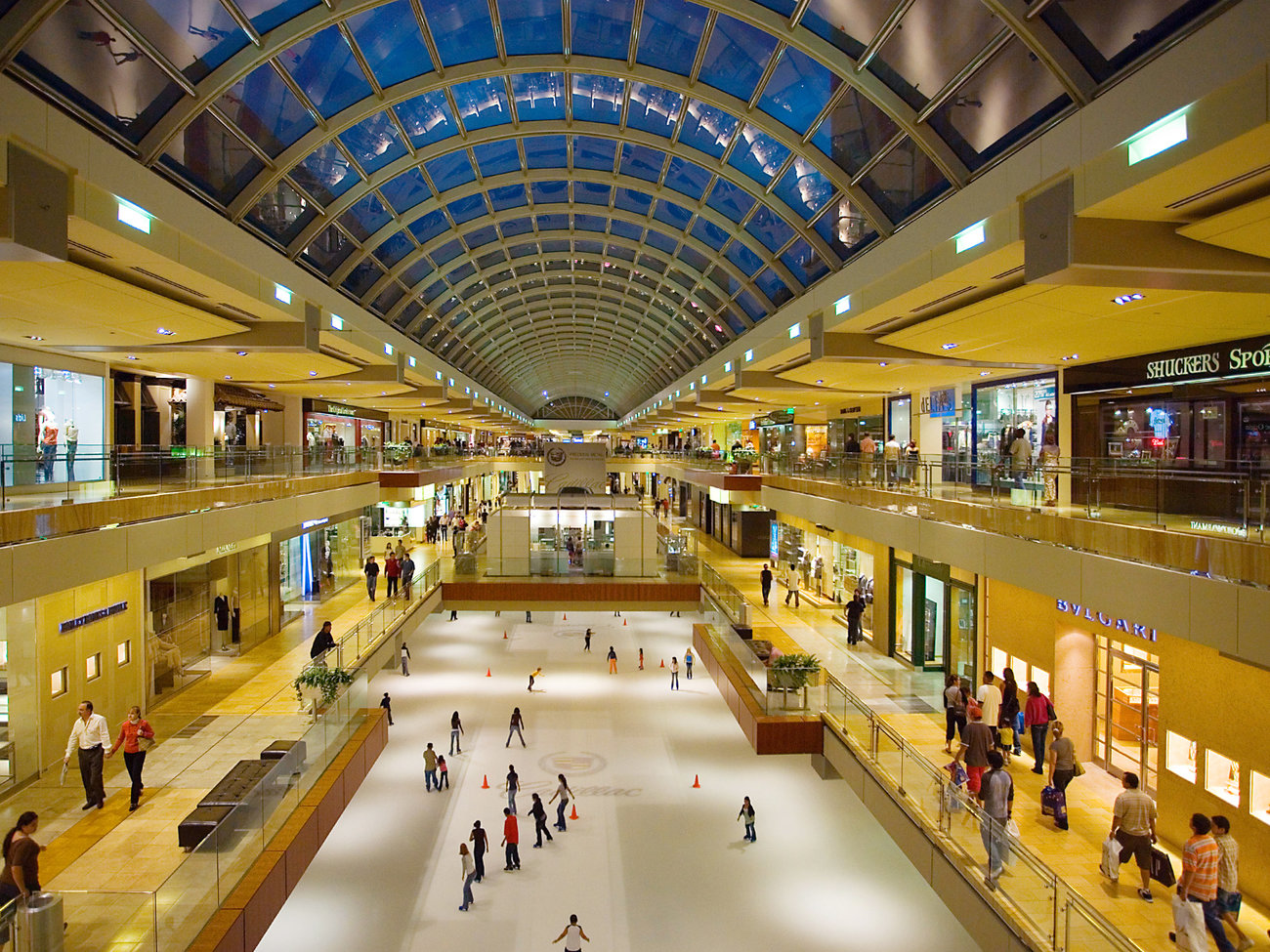 The Galleria Mall in Houston
