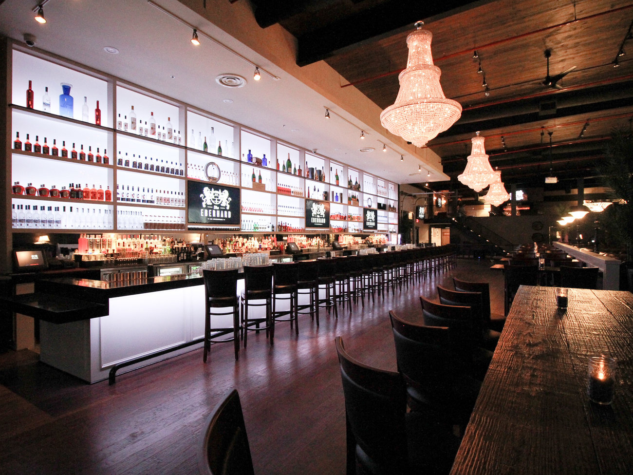The Eberhard Bar in Dallas