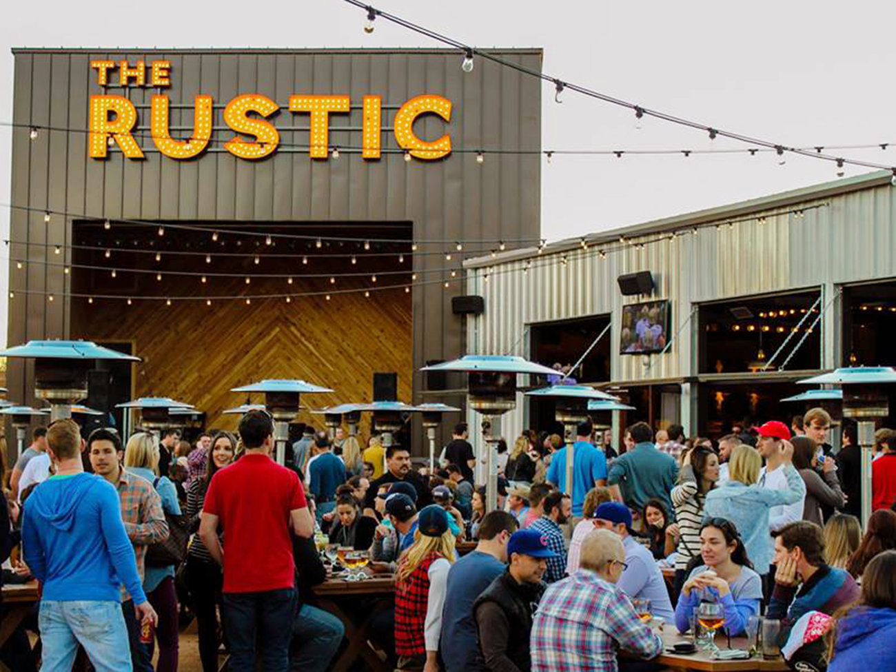 The Rustic Bar in Dallas