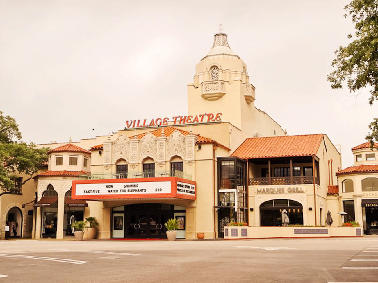 Highland Park Village Mall in Dallas
