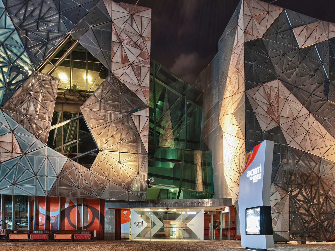 ACMI Australian Centre for the Moving Image in Melbourne