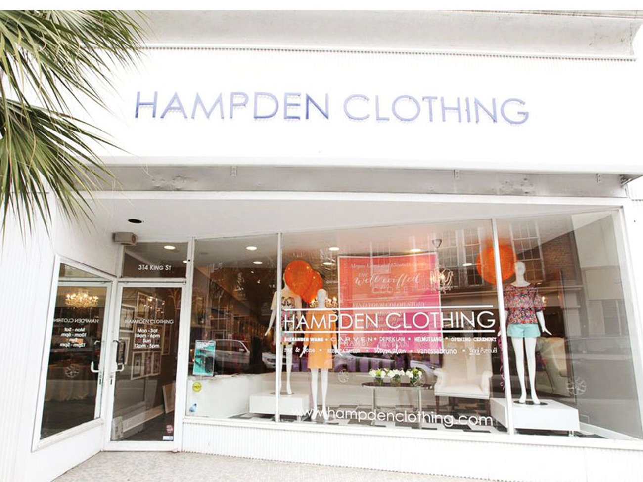 Hampden Clothing Shop in Charleston