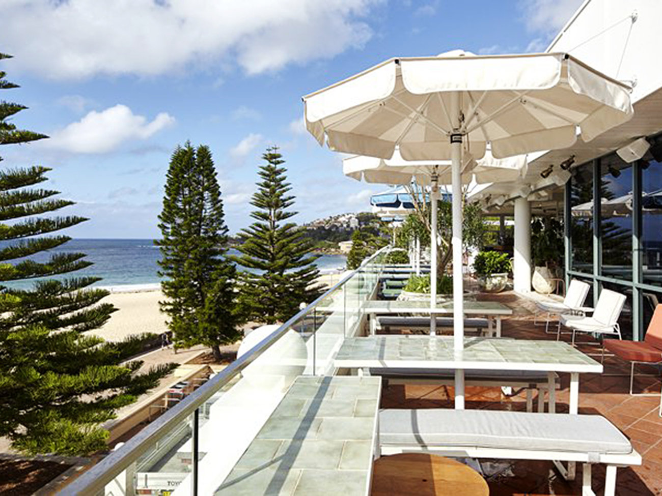 Coogee Pavilion Rooftop Bar in Sydney