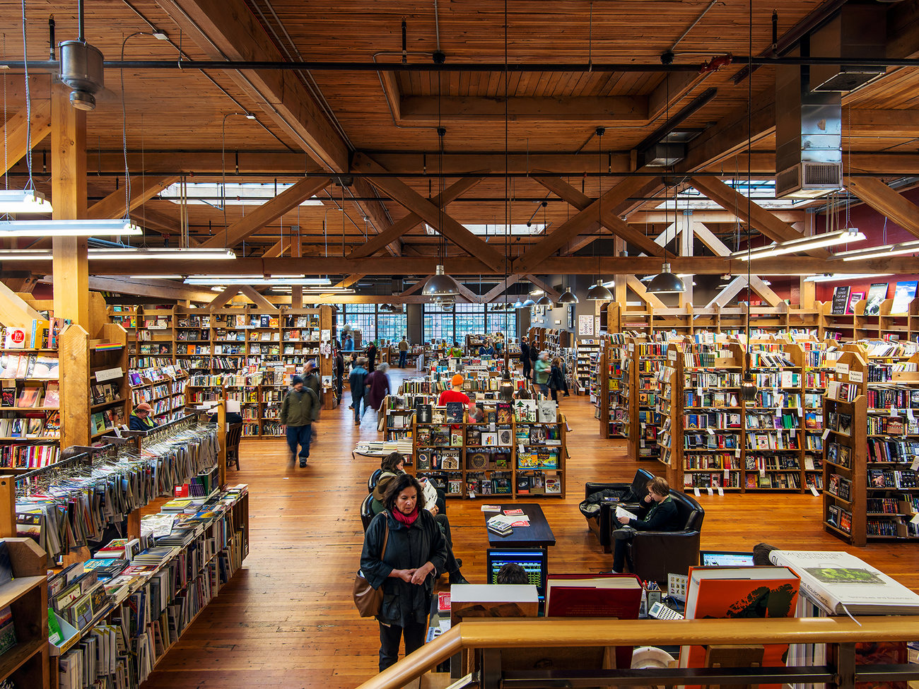 Elliott Bay Book Company Store in Seattle
