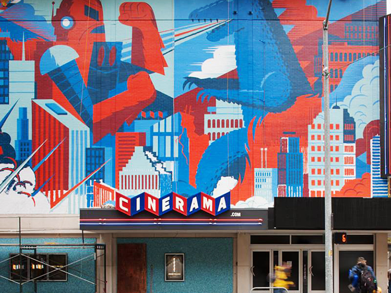 Cinerama Movie Theater in Seattle