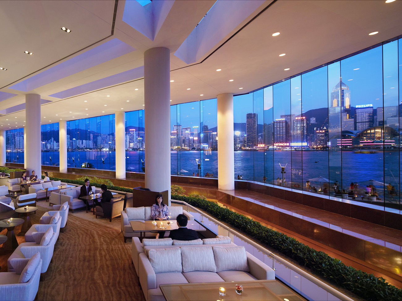 Lobby Lounge Bar at The InterContinental in Hong Kong