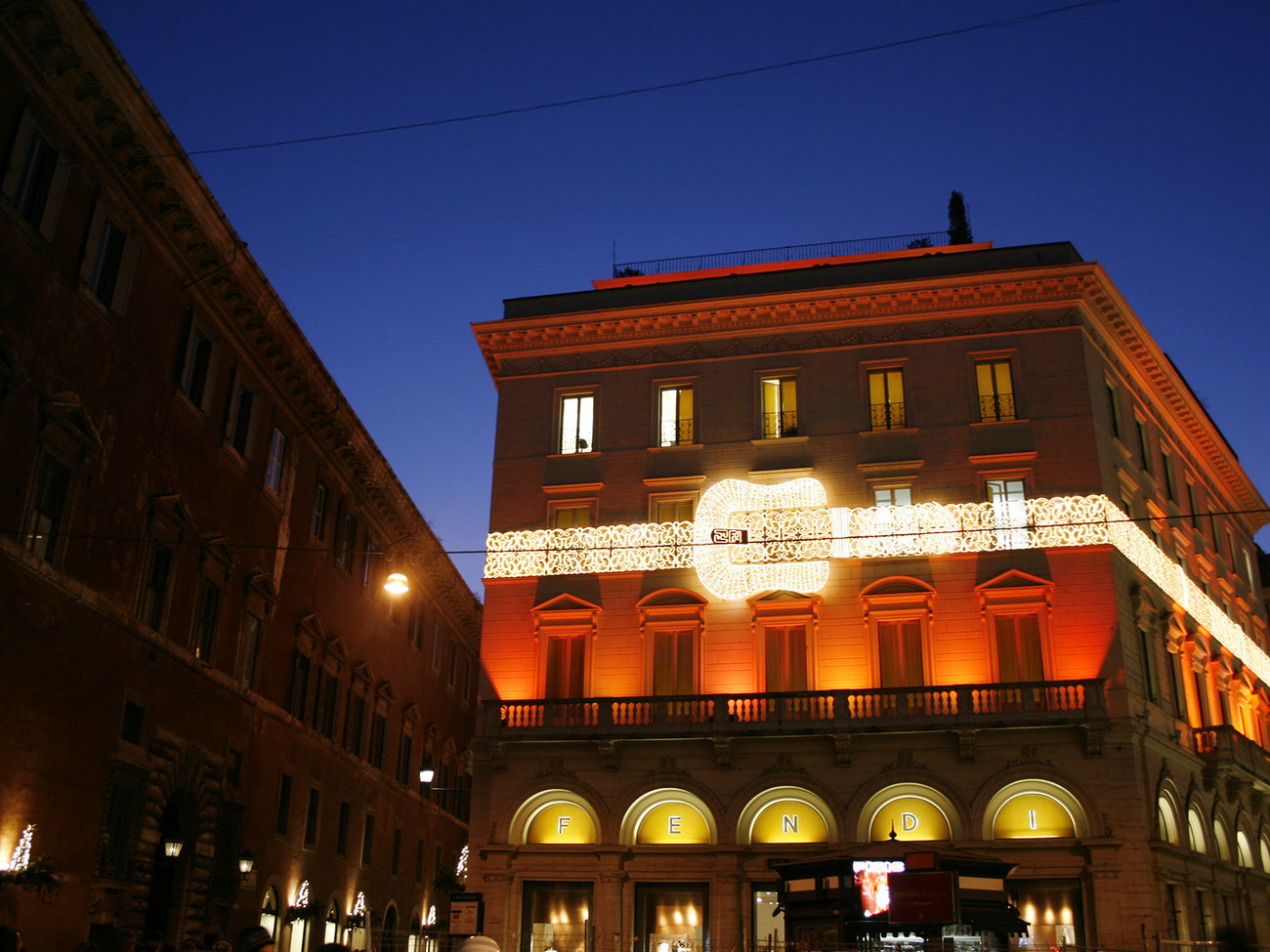 Fendi Fashion Store in Rome
