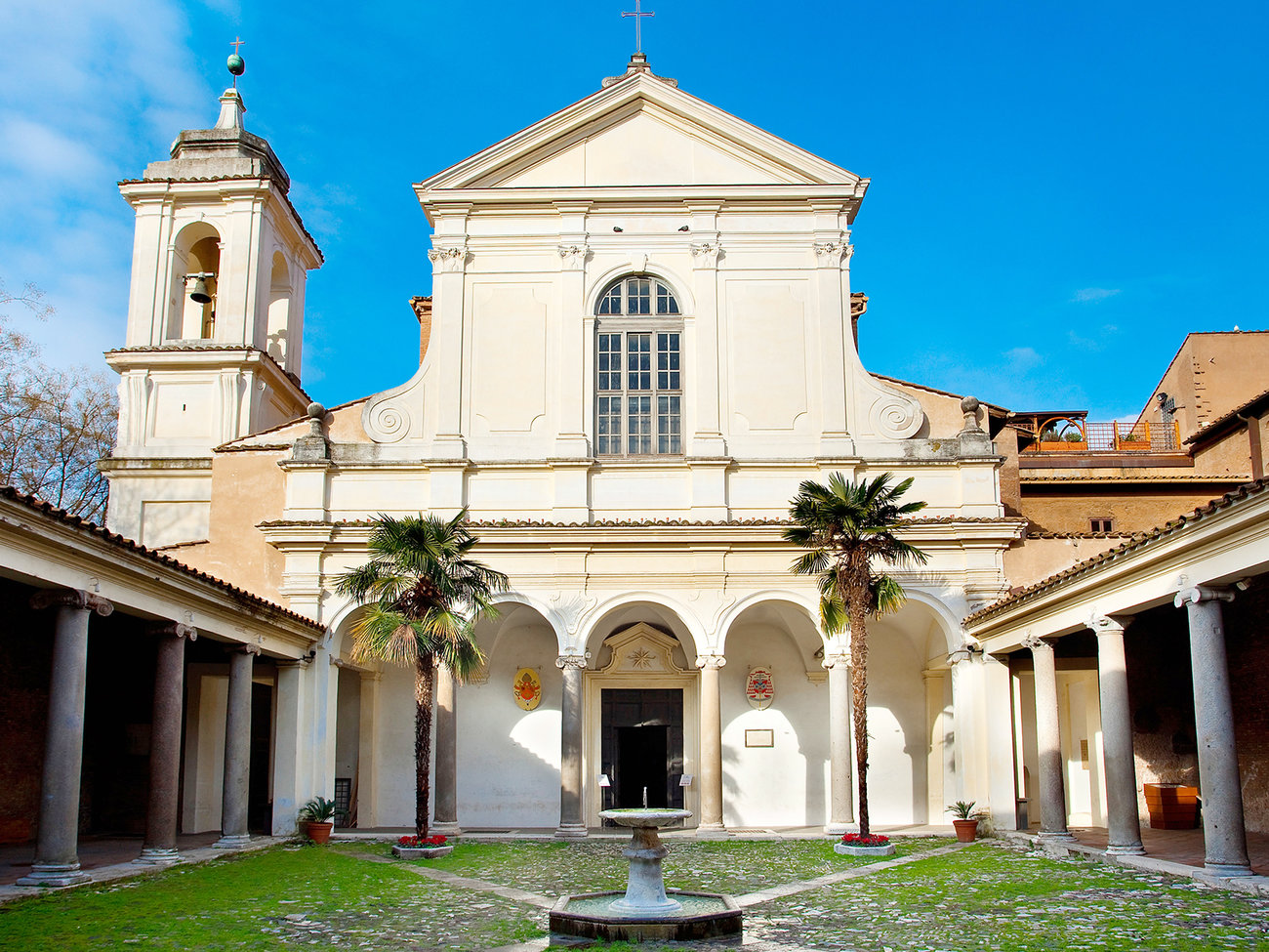 Basilica of San Clemente Church in Rome