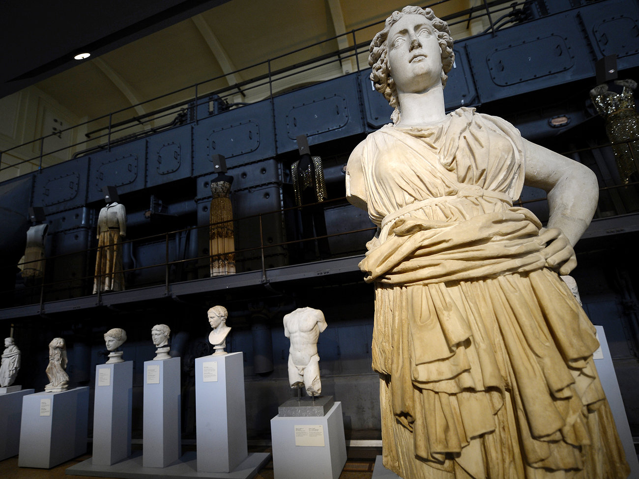 Centrale Montemartini Sculpture Museum in Rome