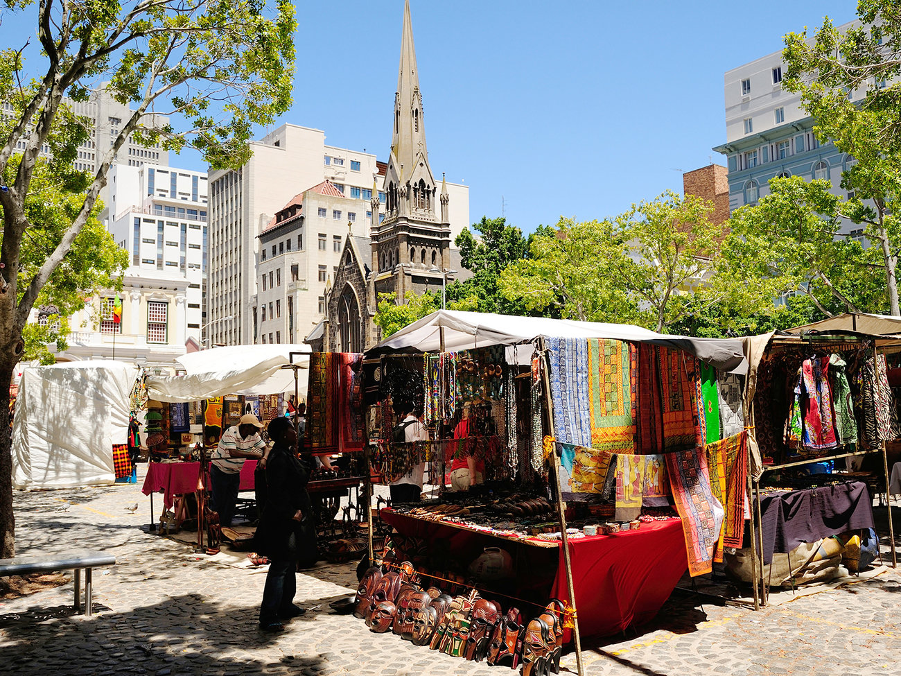 Greenmarket Square in Cape Town