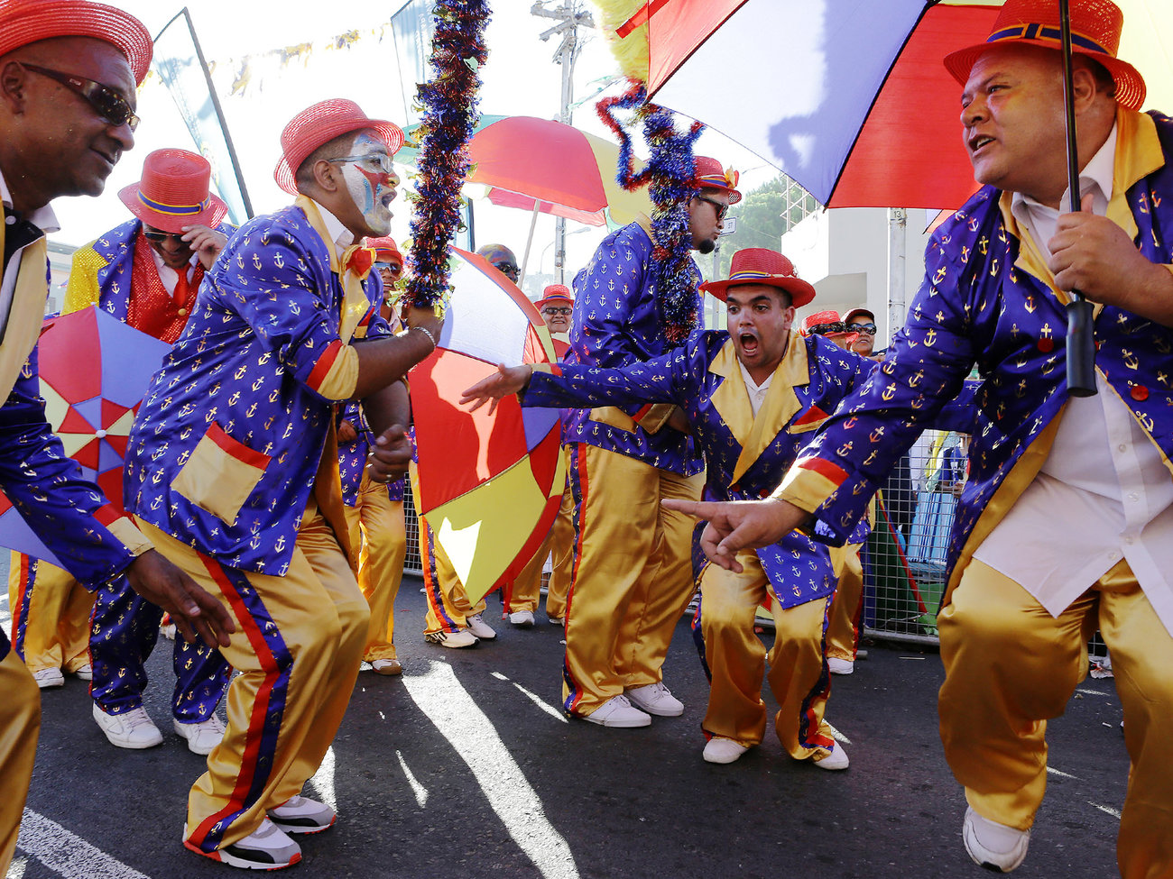 Cape Minstrel Carnival in Cape Town