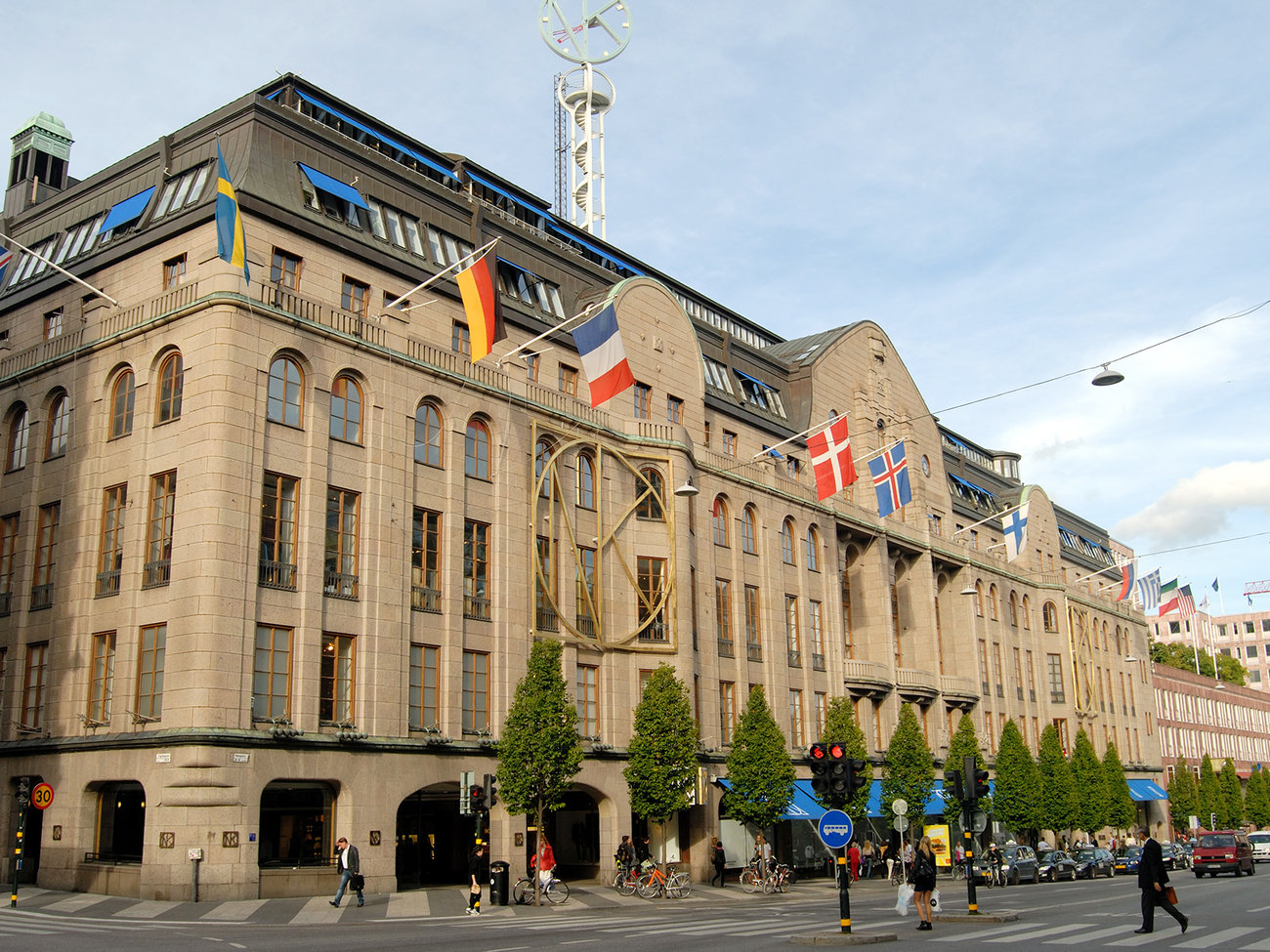 NK Department Store in Stockholm