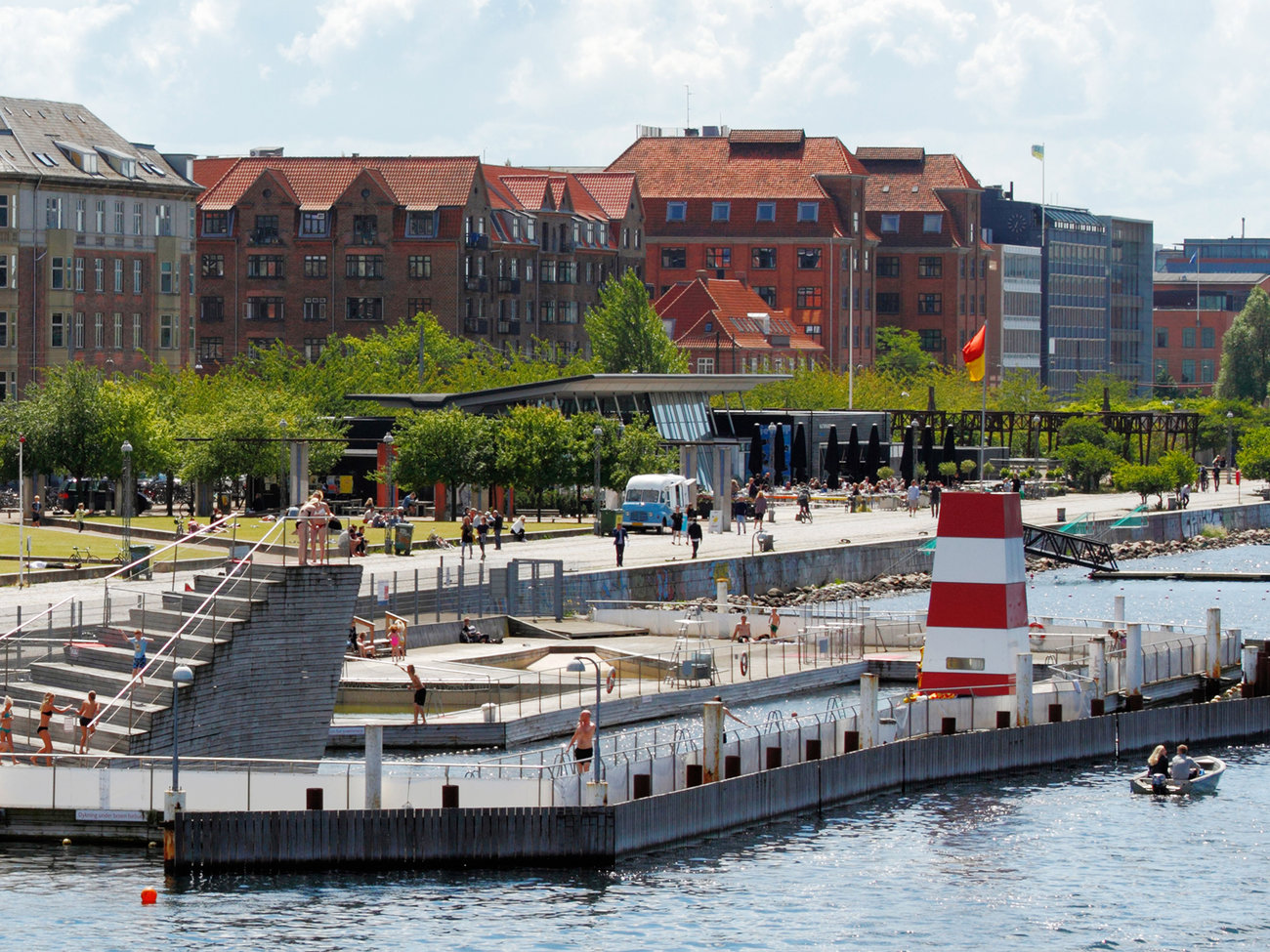 Copenhagen Harbour Bath at Islands Brygge