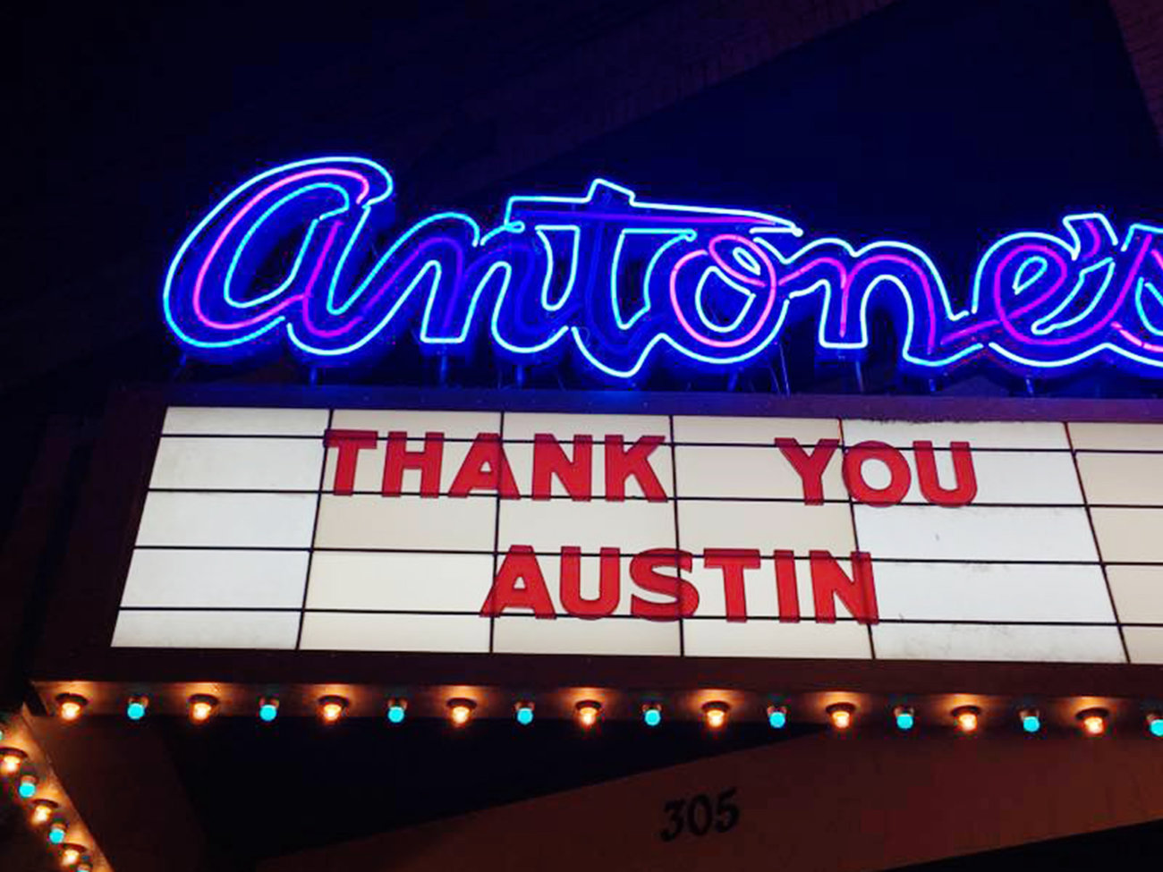 Antone's Music Bar in Austin