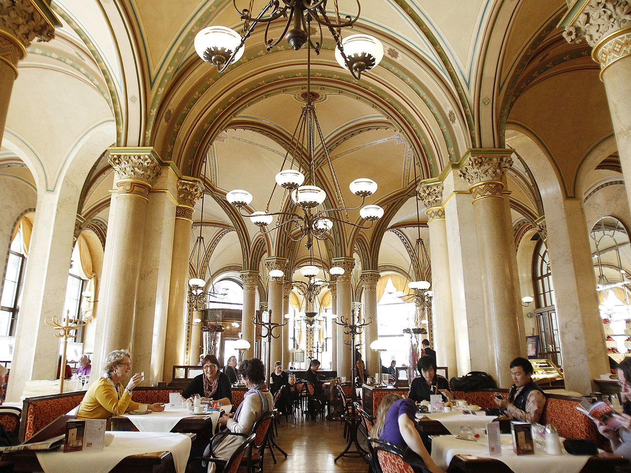 Cafe Central Restaurant in Vienna