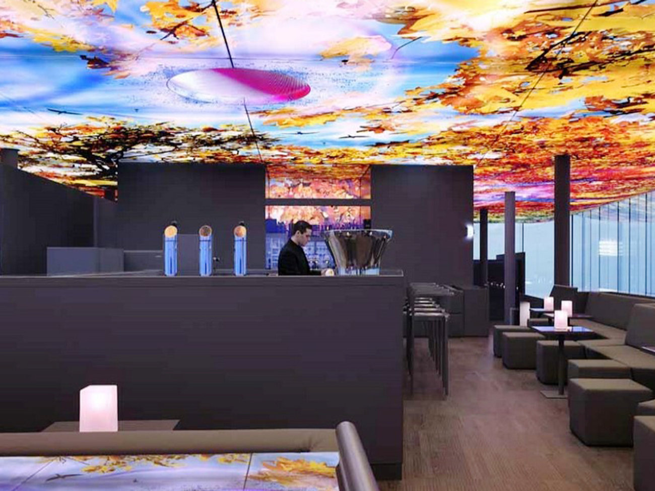 Das Loft Bar & Lounge Sofitel in Vienna