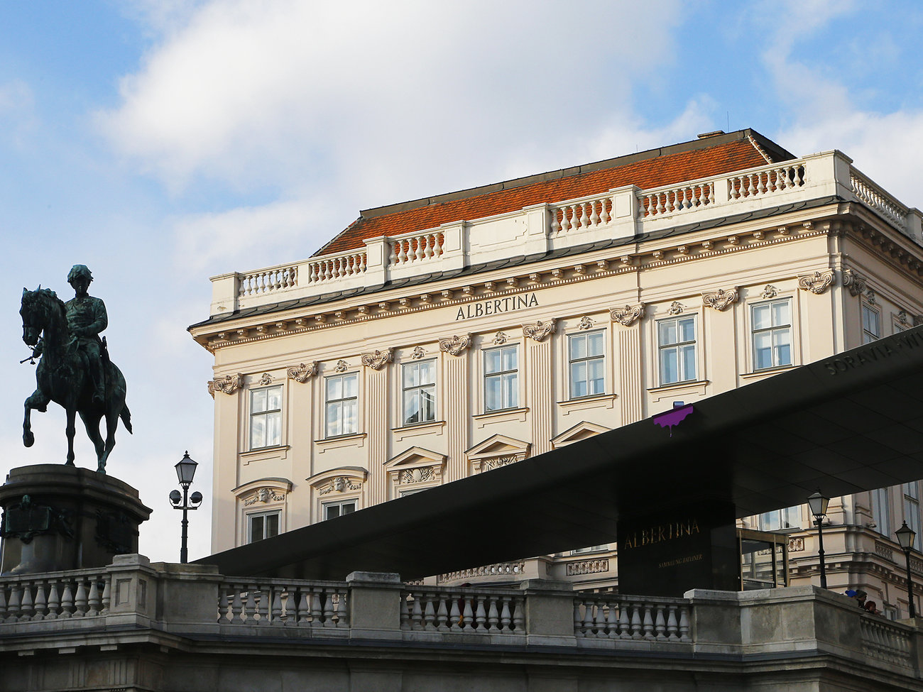 Albertina Museum in Vienna