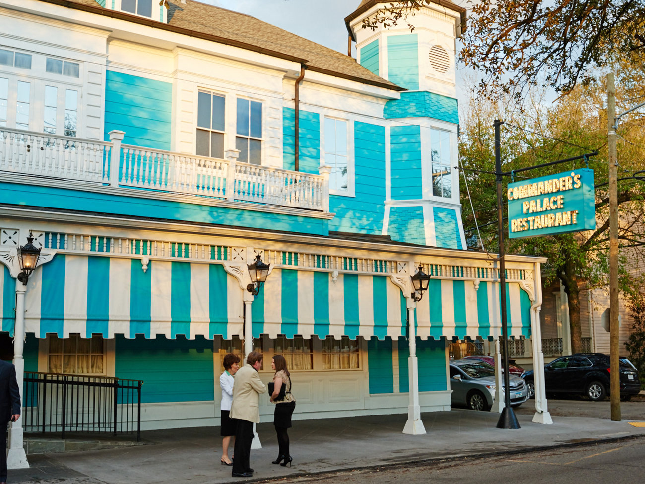 Commander's Palace Restaurant in New Orleans