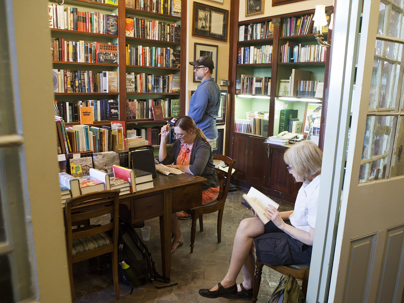 Faulkner House Books Store in New Orleans