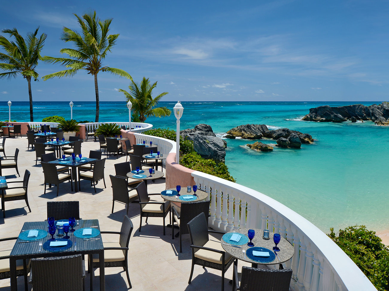 Ocean Club Restaurant in Bermuda