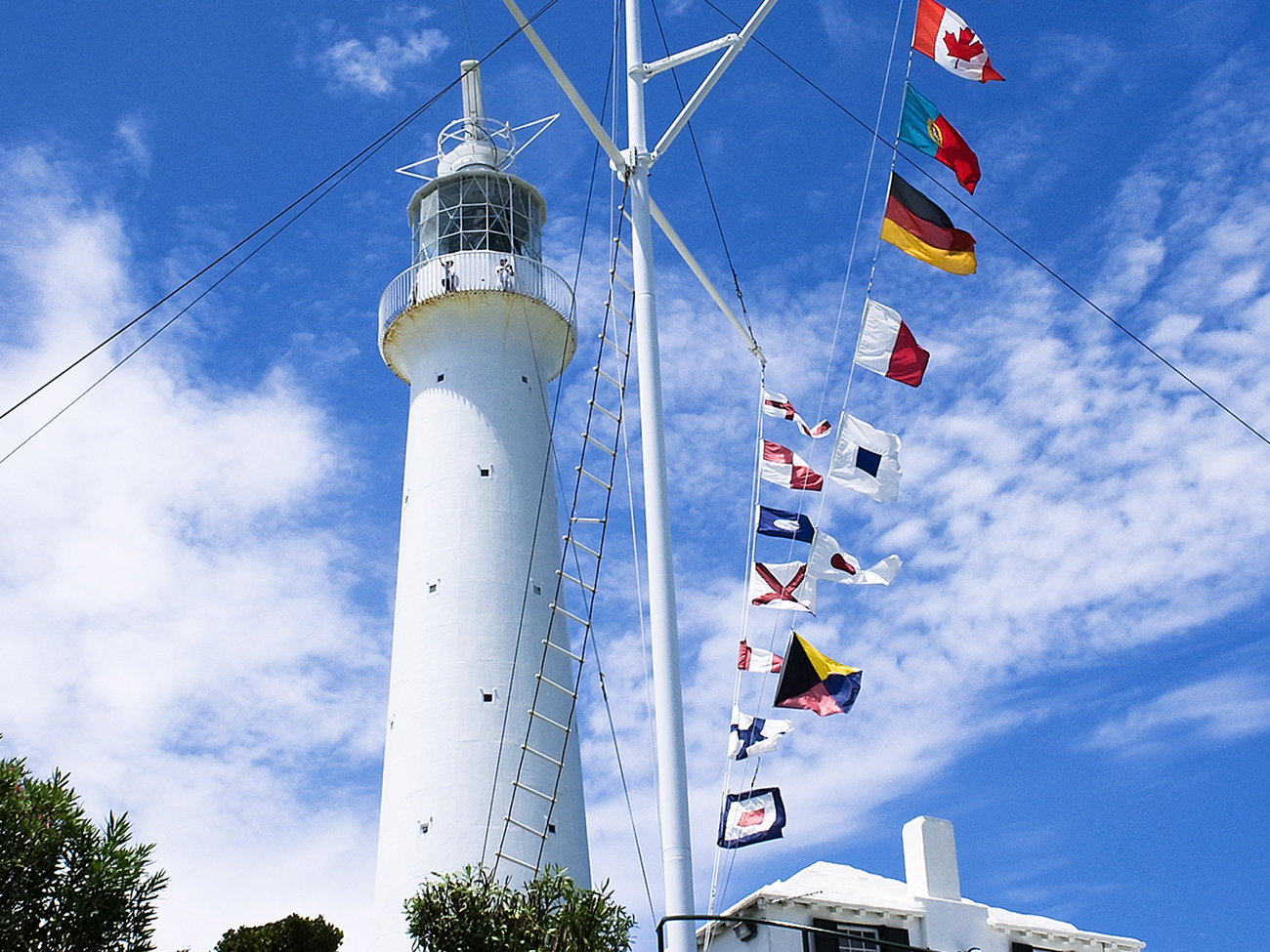 Gibb's Hill Lighthouse in Bermuda