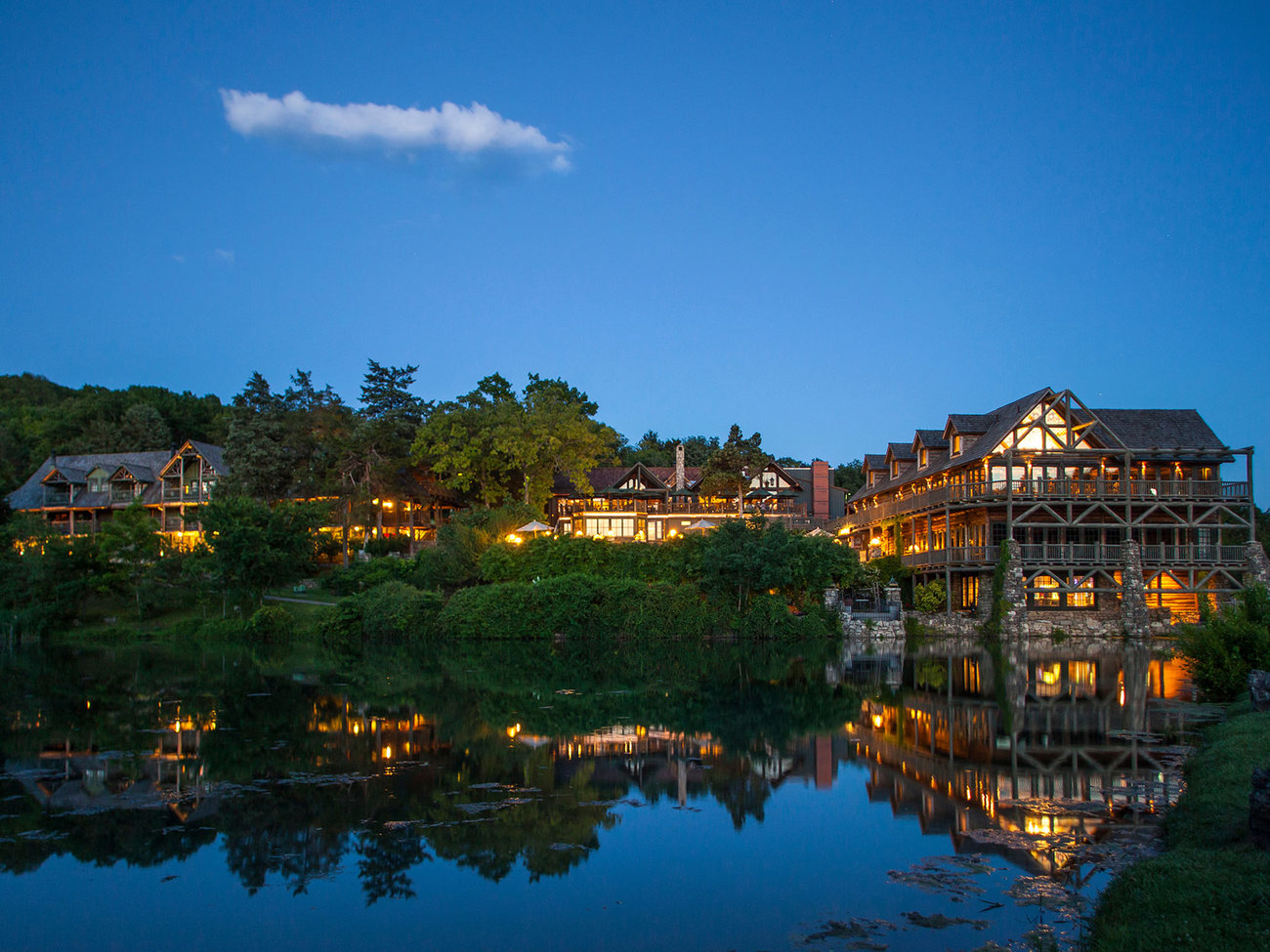Lake Ozark Missouri >> Big Cedar Lodge | Travel + Leisure