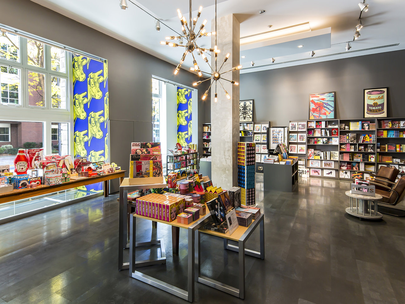 Andy Warhol Museum Shop in Pittsburgh