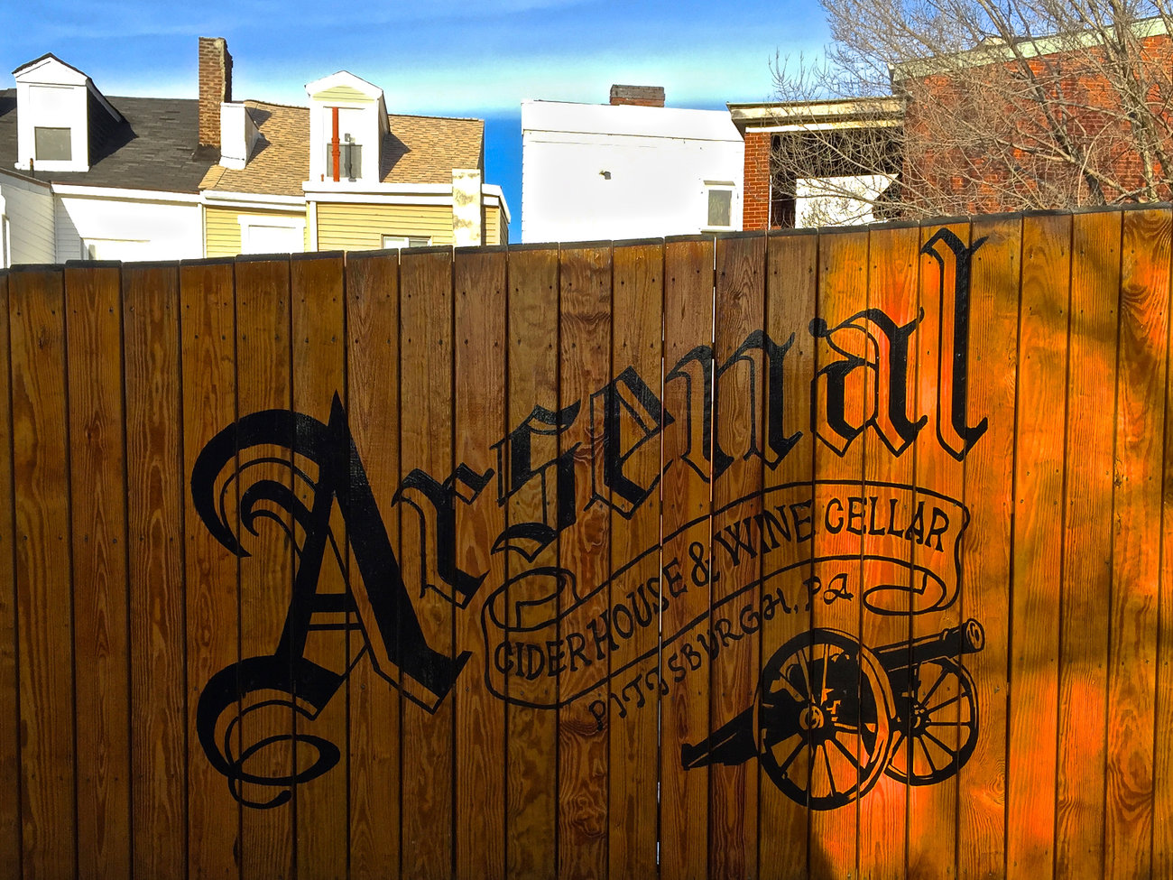 Arsenal Cider House Bar in Pittsburgh