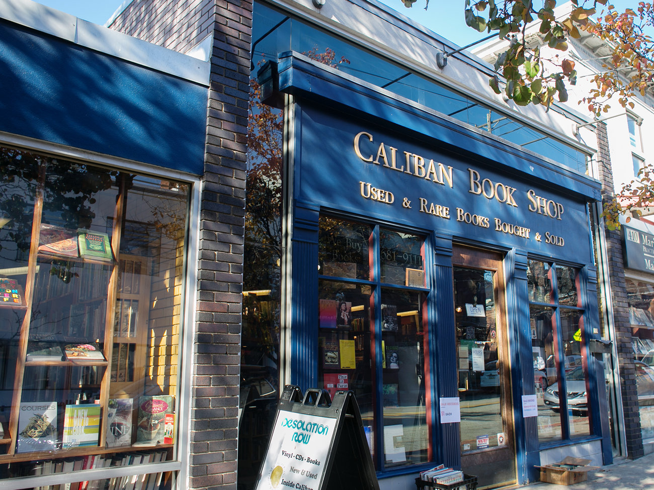 Caliban Books Store in Pittsburgh
