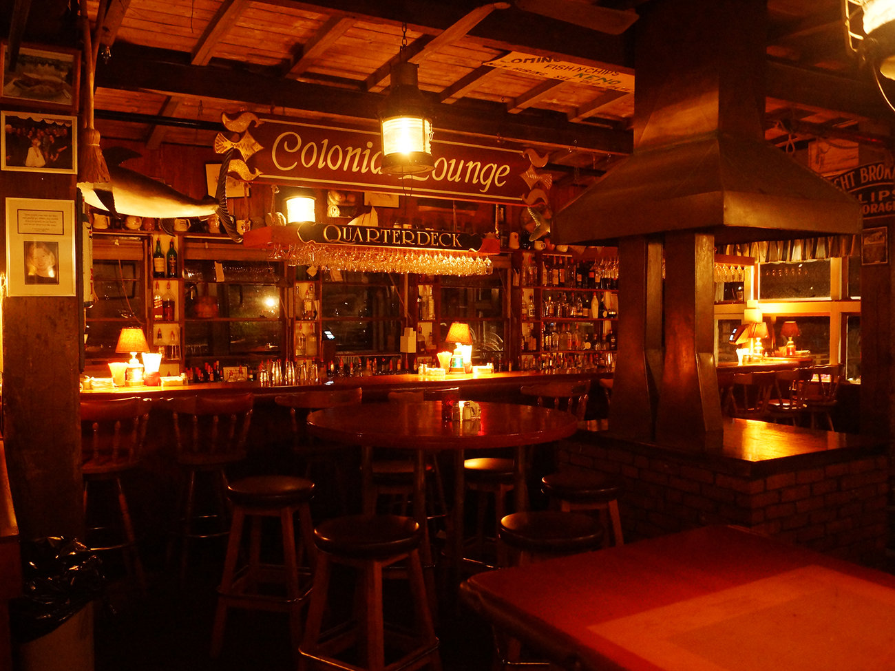 The Chart Room Bar in Cape Cod
