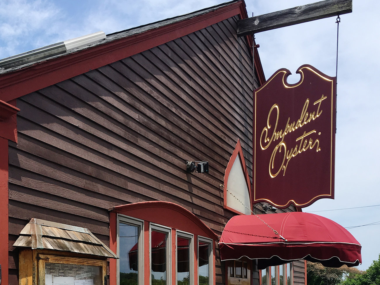 Impudent Oyster Restaurant in Cape Cod