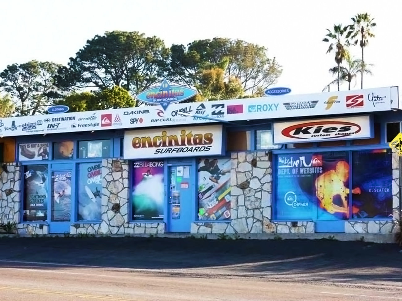 Encinitas Surfboards Store in San Diego